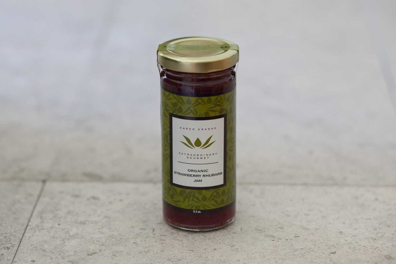 Jam Organic Strawberry Rhubarb Jam