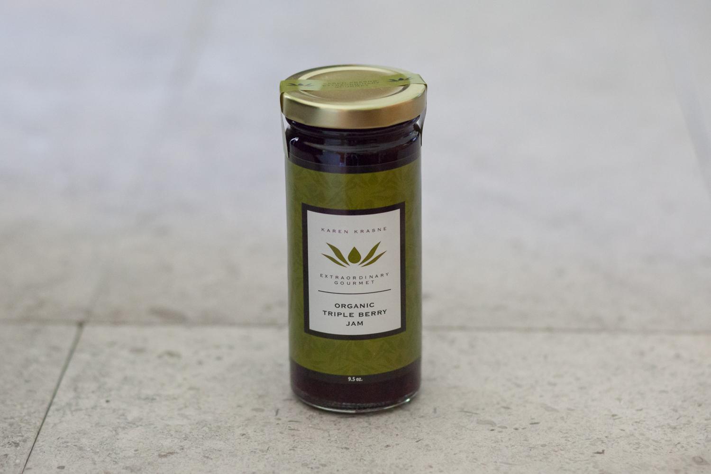 Jam Organic Triple Berry Jam