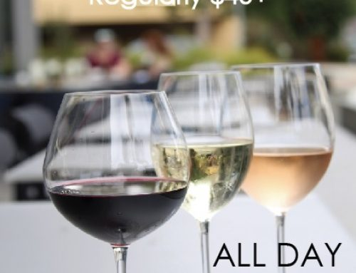 $25 BOTTLES OF WINE: Both Locations
